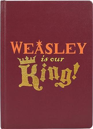 Harry Potter A5 Notebook-Ron Weasley (Weasley es nuestro ...