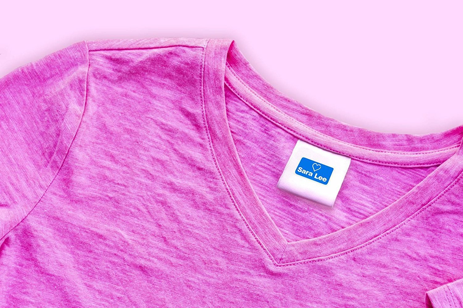 Custom Personalized Clothing Labels Self Adhesive - Machine Washable Heavy Duty PVC Customize Name Color /& Icon 90 Labels - Waterproof