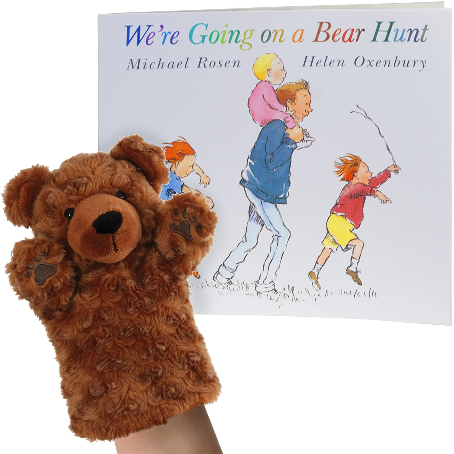 We're Going On A Bear Hunt Book With Puppet The Puppet Company