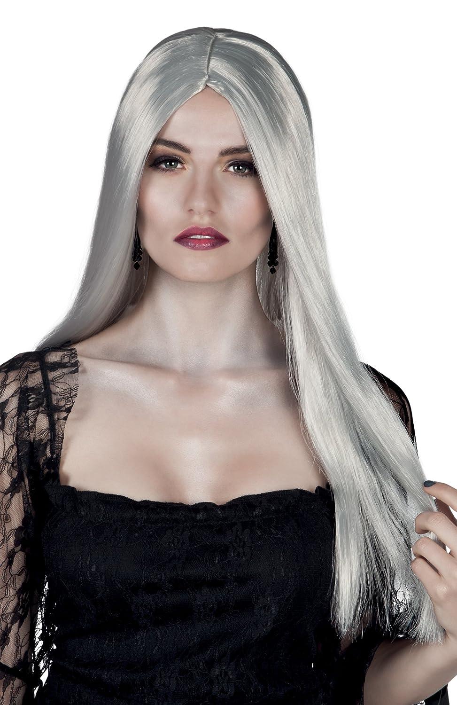 Taglia Unica Bianco 86098 Boland- Parrucca Lunga Strega Bewitched per Adulti