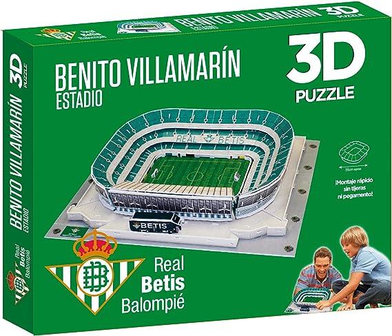 Puzzle 3D Estadio Real Betis Benito Villamarin: Amazon.es ...