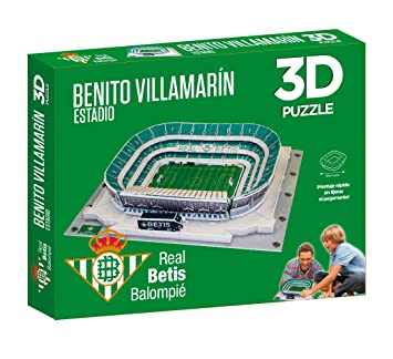 Puzzle 3D Estadio Real Betis Benito Villamarin