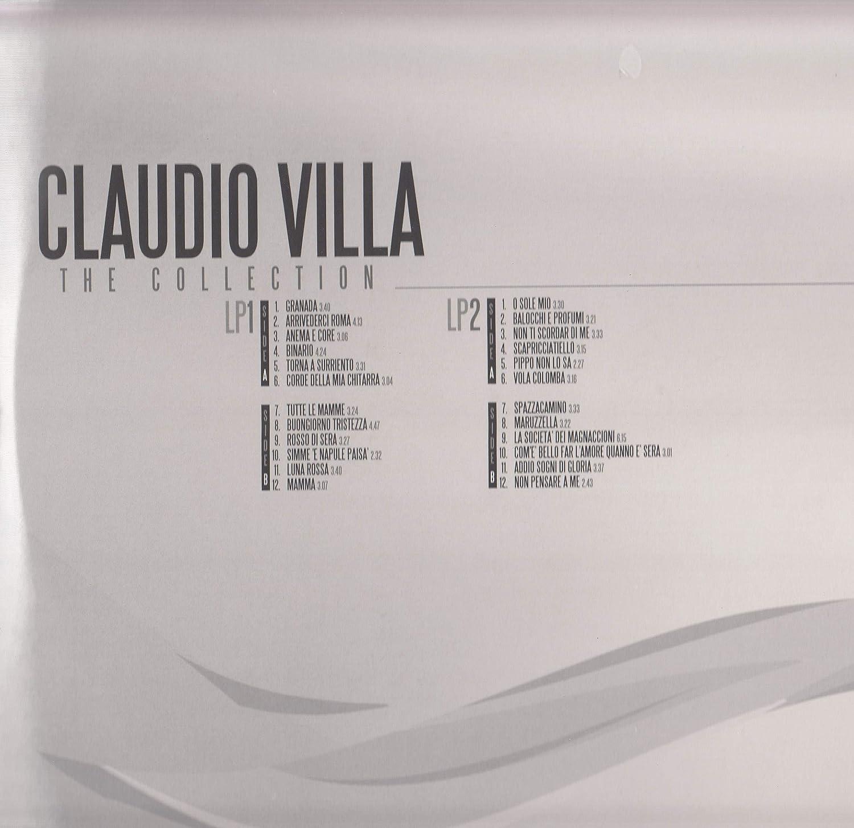 Claudio Villa, The Collection Doppio Vinile Lp 180 gr. da ...