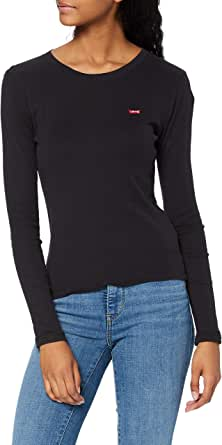 Levi's 501 Crop T-Shirt Camisa Manga Larga para Mujer