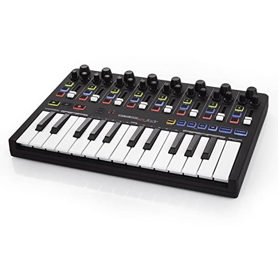 Reloop Keyfadr - Superficie de control y/o de mezcla, color negro: Amazon.es: Instrumentos musicales