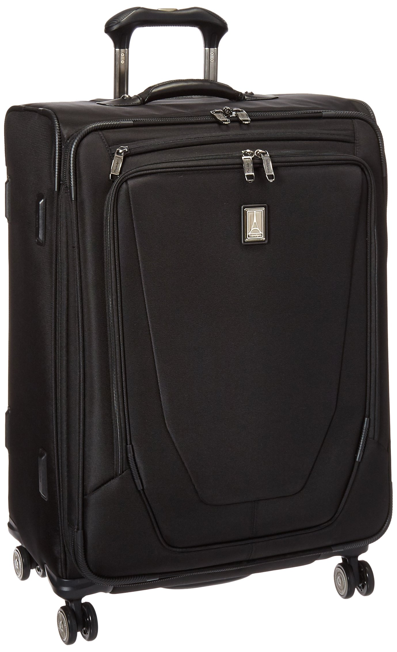 Travelpro Crew 11 25'' Expandable Spinner, Black