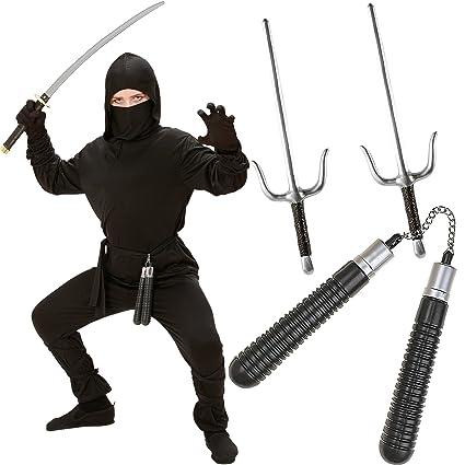 Niños verkleidungs Juego de * Ninja * para Carnaval o una ...