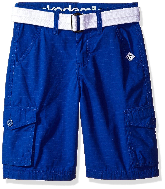 Akademiks Boys Rip Stop Cargo Short W/Belt 17SH01