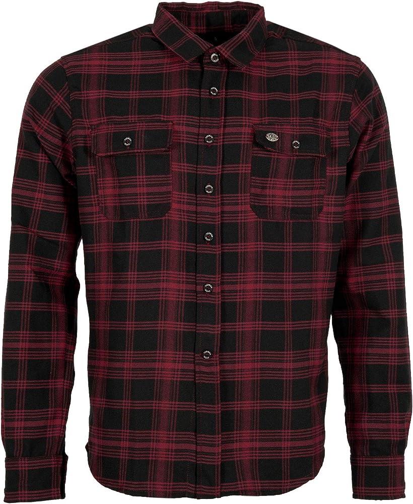 Ternua Ronae Camisa, Hombre, Rojo (Burgundy) / Negro (Checks), XXL: Amazon.es: Deportes y aire libre