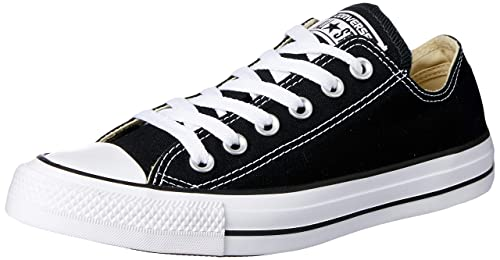 Converse All Star Canvas Ox - Zapatillas para hombre, color negro blanco, talla 37: Amazon.es: Zapatos y complementos