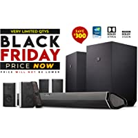 Nakamichi Shockwafe 9.2.4-Channel Sound Bar with Wireless Subwoofer & Bluetooth