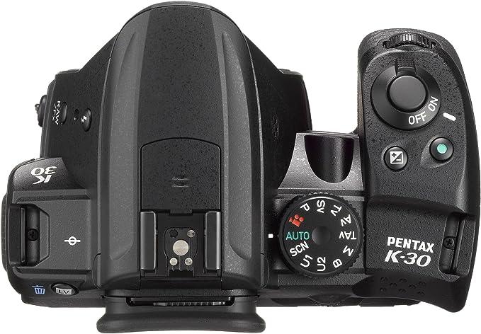 Pentax K30+18-55WR+50-200WR - Kit de cámara réflex Digital con ...