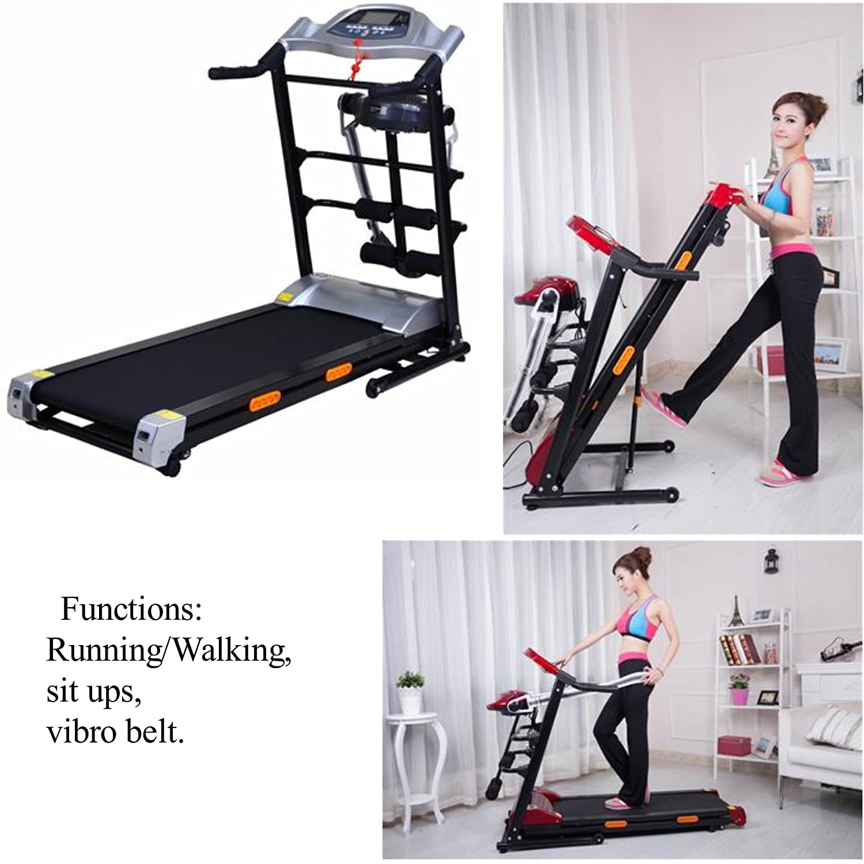 SAC 1.75hp casa función Multi (Plegable) Treadmill-Running/Caminar ...