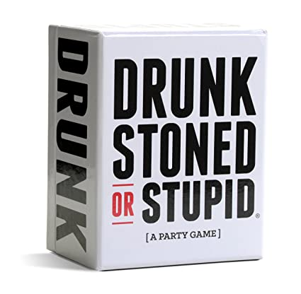 amazon com drunk stoned or stupid a party game toys games