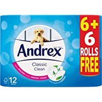ANDREX Classic Clean White 6+6 Free, 12 Units