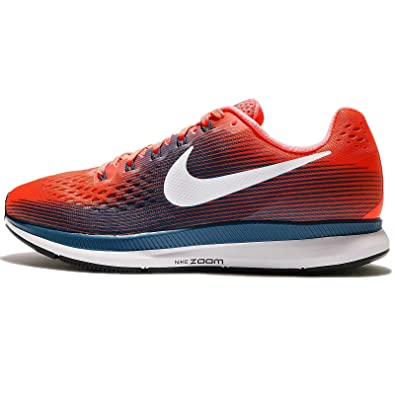 info for 33c1a 9e29e Amazon.com   NIKE Men s Air Zoom Pegasus 34 Hyper Orange Black Running Shoe  10.5 Men US (15)   Road Running