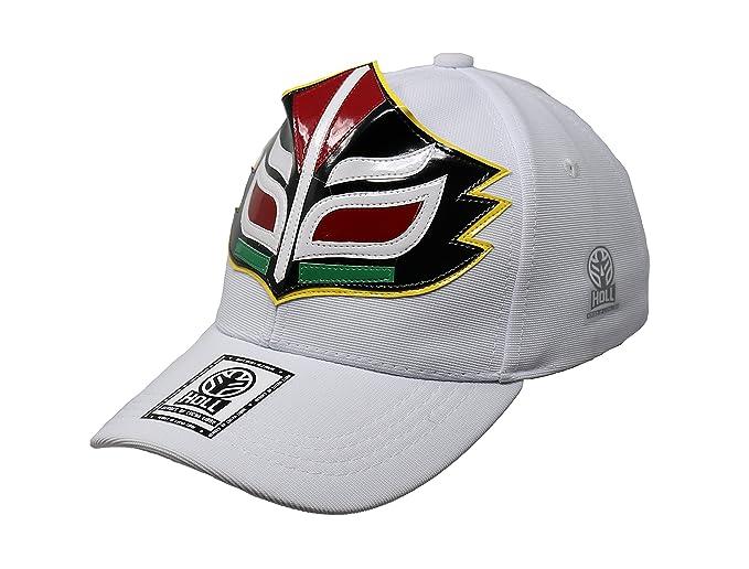 Mascara Sagrada Lucha Libre Adult Unisex Stretch Fit Hat Wrestling Cap at Amazon Mens Clothing store: