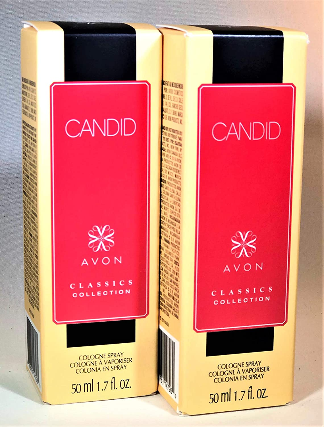 Amazon.com : Avon Candid Classics collection cologne spray lot of 2 : Beauty