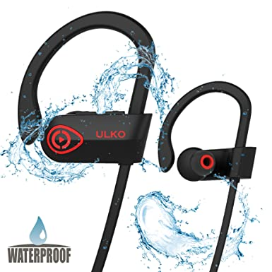Auriculares inalámbricos – Los mejores auriculares deportivos inalámbricos con micrófono – HD estéreo resistente al agua