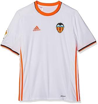 Adidas 1ª Equipación Valencia CF Camiseta, Niño: Amazon.es: Deportes y aire libre