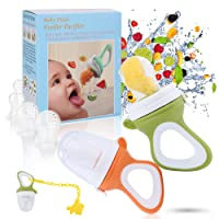 Baby Fruit Feeder Pacifier - Baby Food Feeder Fresh Food Feeder Infant Fruit Teething...