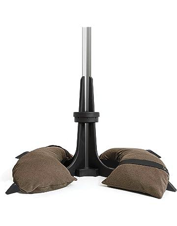 Bases y soportes para sombrillas para patio   Amazon.es