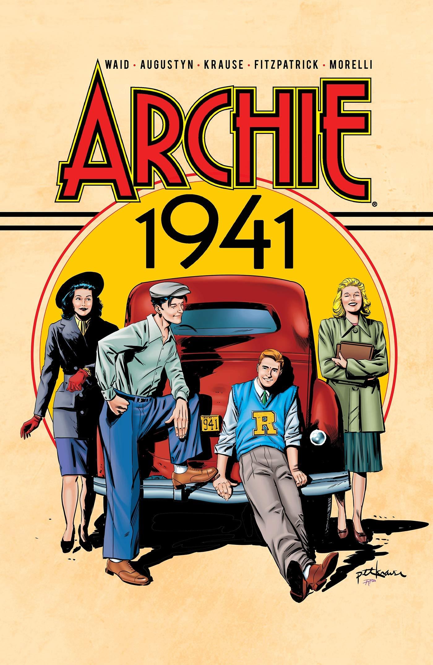 ARCHIE 1941: Amazon.es: Waid, Mark, Augustyn, Brian, Krause, Peter: Libros  en idiomas extranjeros