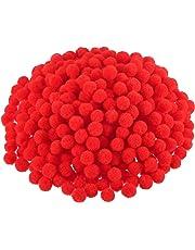 Pompons für Bastel- und Bastelbedarf, 500 Stück, 1,2 cm/0,5 Zoll