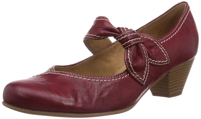 Gabor - Henrietta, Scarpe col Tacco con Cinturino a T DonnaRed - Rot (Cherry)