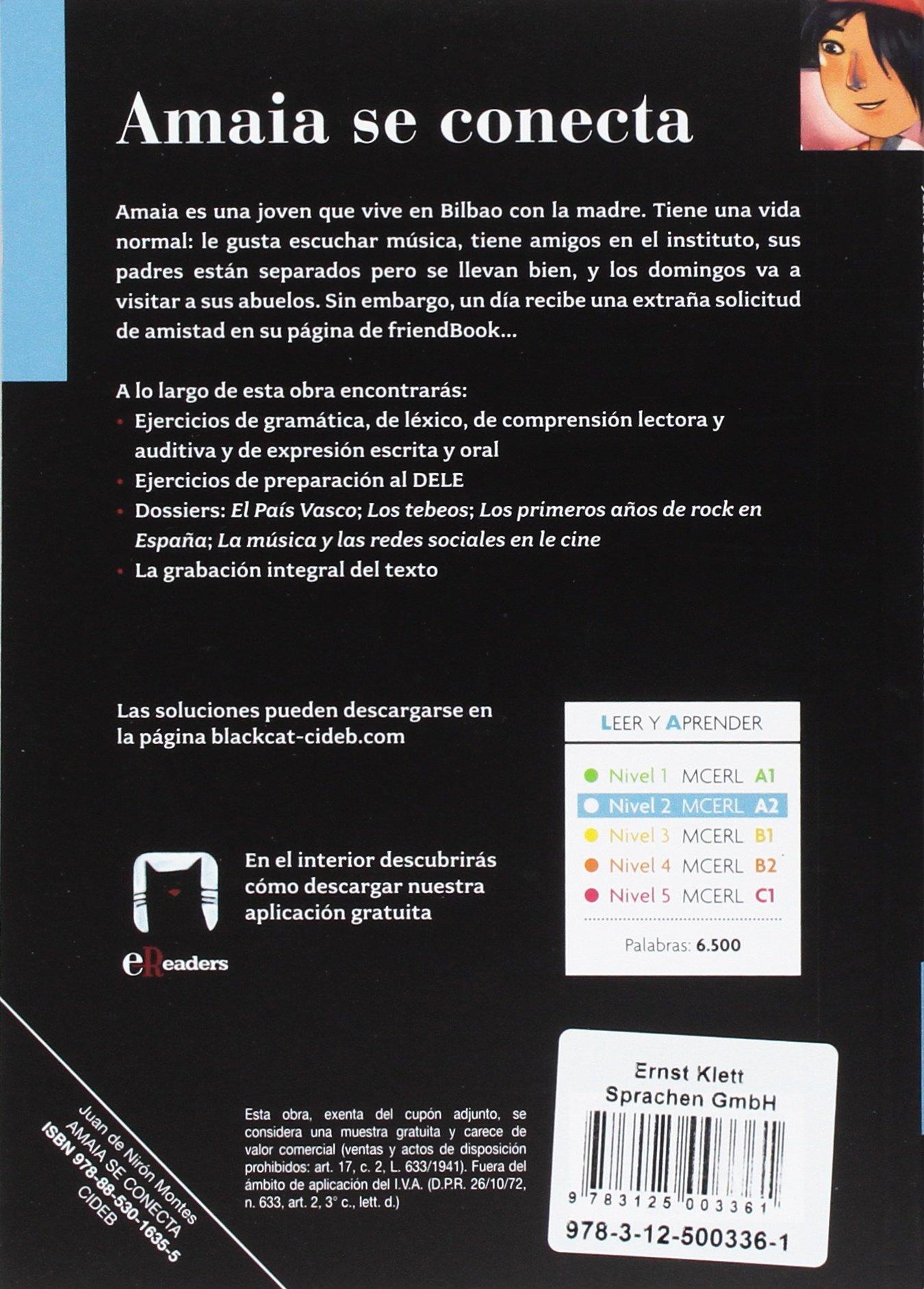 Amaia se conecta. Buch + Audio-CD: Amazon.es: Nirón Montes, Juan de: Libros