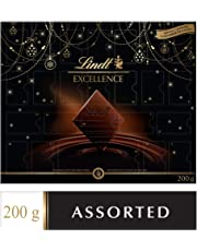 Lindt Excellence Christmas Advent Calendar Assorted Chocolates Gift Box, 200g