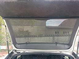 auto sonnenschutz heck rollo sonnenrollo 100 cm heckscheibe sonnenschutzrollo auto. Black Bedroom Furniture Sets. Home Design Ideas