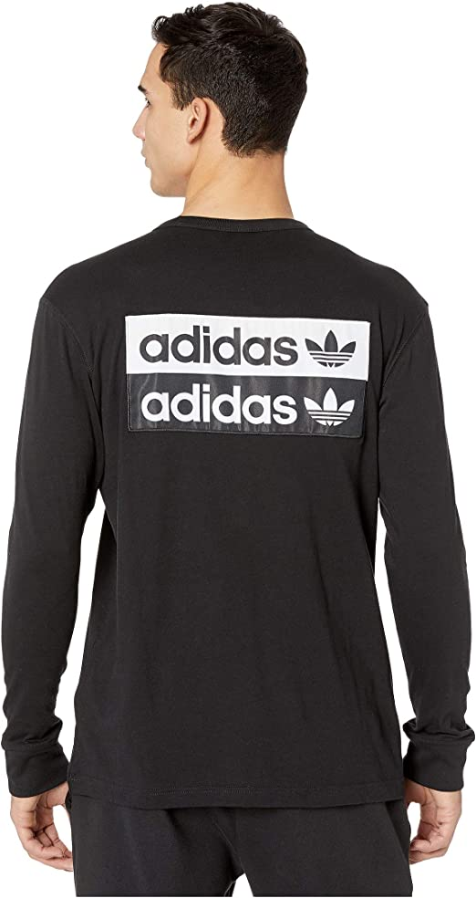 adidas Originals - Camiseta de Manga Larga para Hombre: Amazon ...