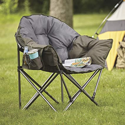 Image Unavailable & Amazon.com : Westfield Outdoor Oversized Folding Club Camp Chair ...