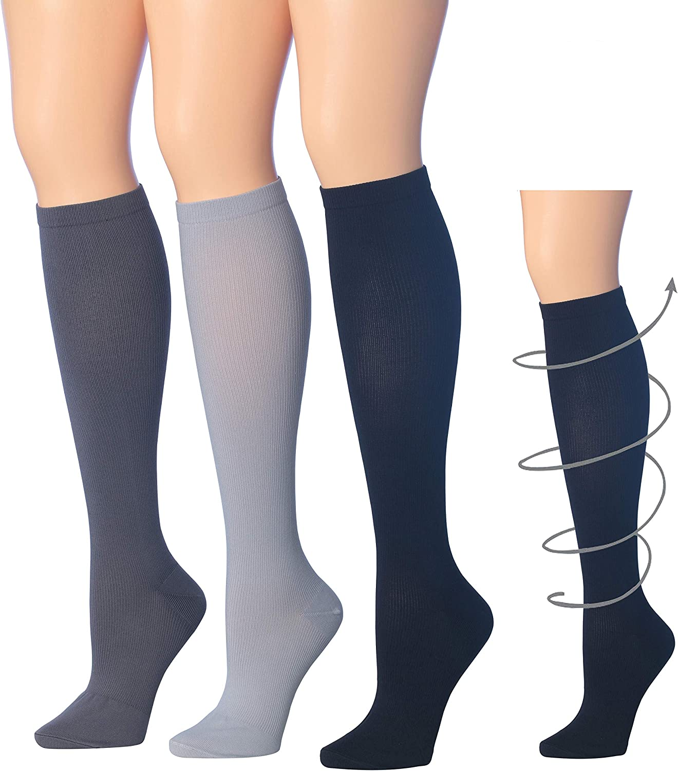 3 Pairs New Girls Women Black Patterned  Ankle Nylon Pop  Socks One size P 2