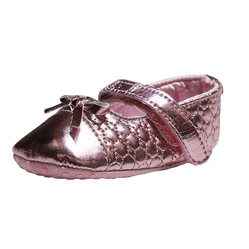 Abdc Kids Baby Girls Pink First Walking Shoes