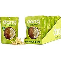 Dang 无麸质烤椰子片,原味,1.43盎司(约40.5克)袋装(12袋装)