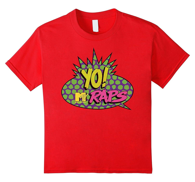 Mens MTV Classic T Shirt Large-Teeae