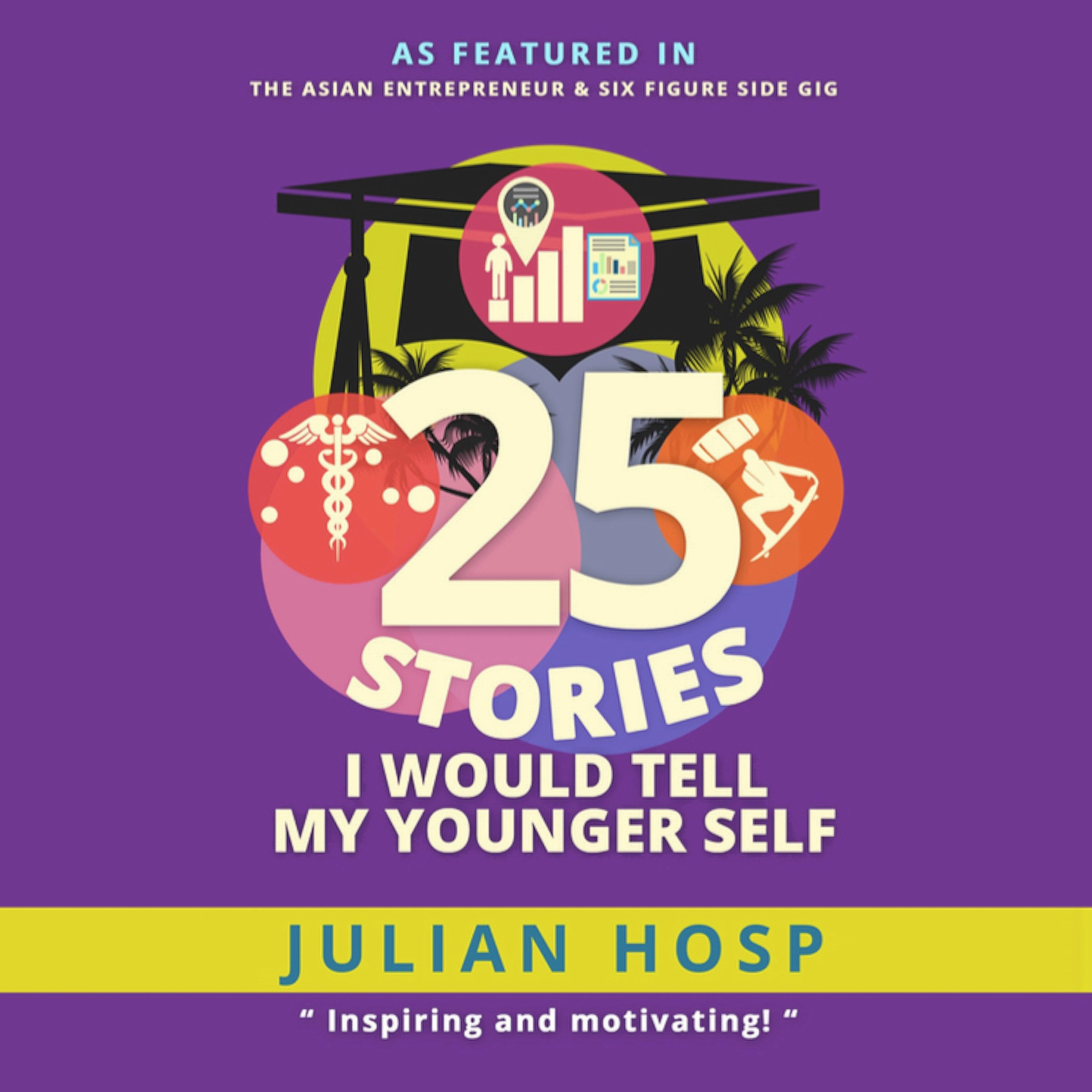 25 Stories I Would Tell My Younger Self: An Inspiring and Motivational Blueprint for Millennials