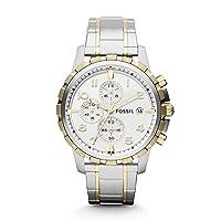 Men's Dean Stainless Steel Quartz Dress Chronograph Watch