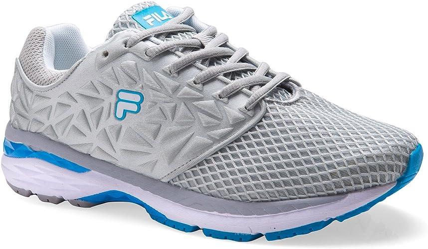 Fila - Zapatillas de Running para Mujer Rosa Rosa, Color Gris, Talla 39 EU: Amazon.es: Zapatos y complementos