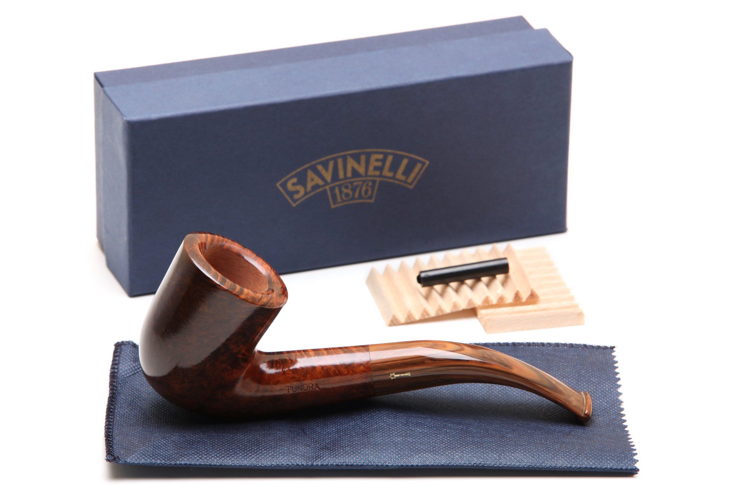 Savinelli Tundra Smooth 611 EX Tobacco Pipe