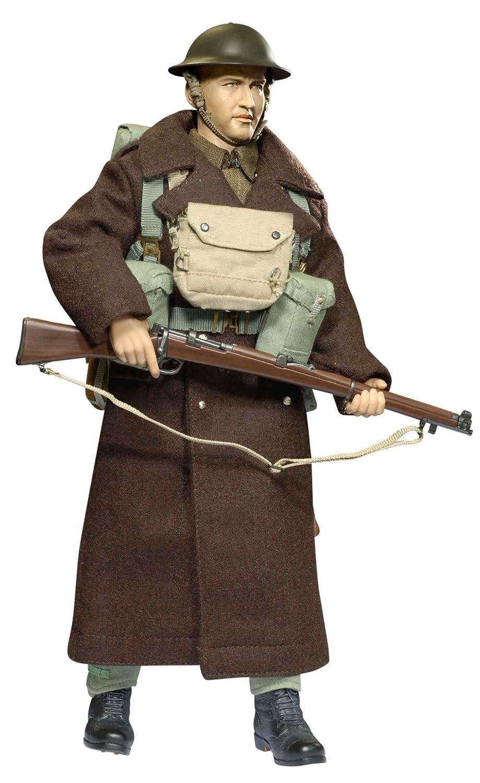 DRAGON 1:6TH SCALE WW2 BRITISH EXPEDITIONARY FORCE MKVI RESPIRATOR BAG PETER