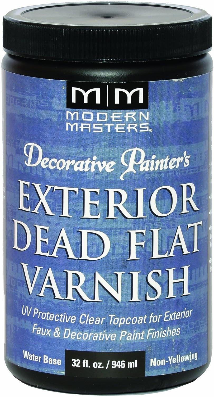 Amazon.com: Modern Masters DP612-32 Exterior Dead Flat Varnish, 32 ...