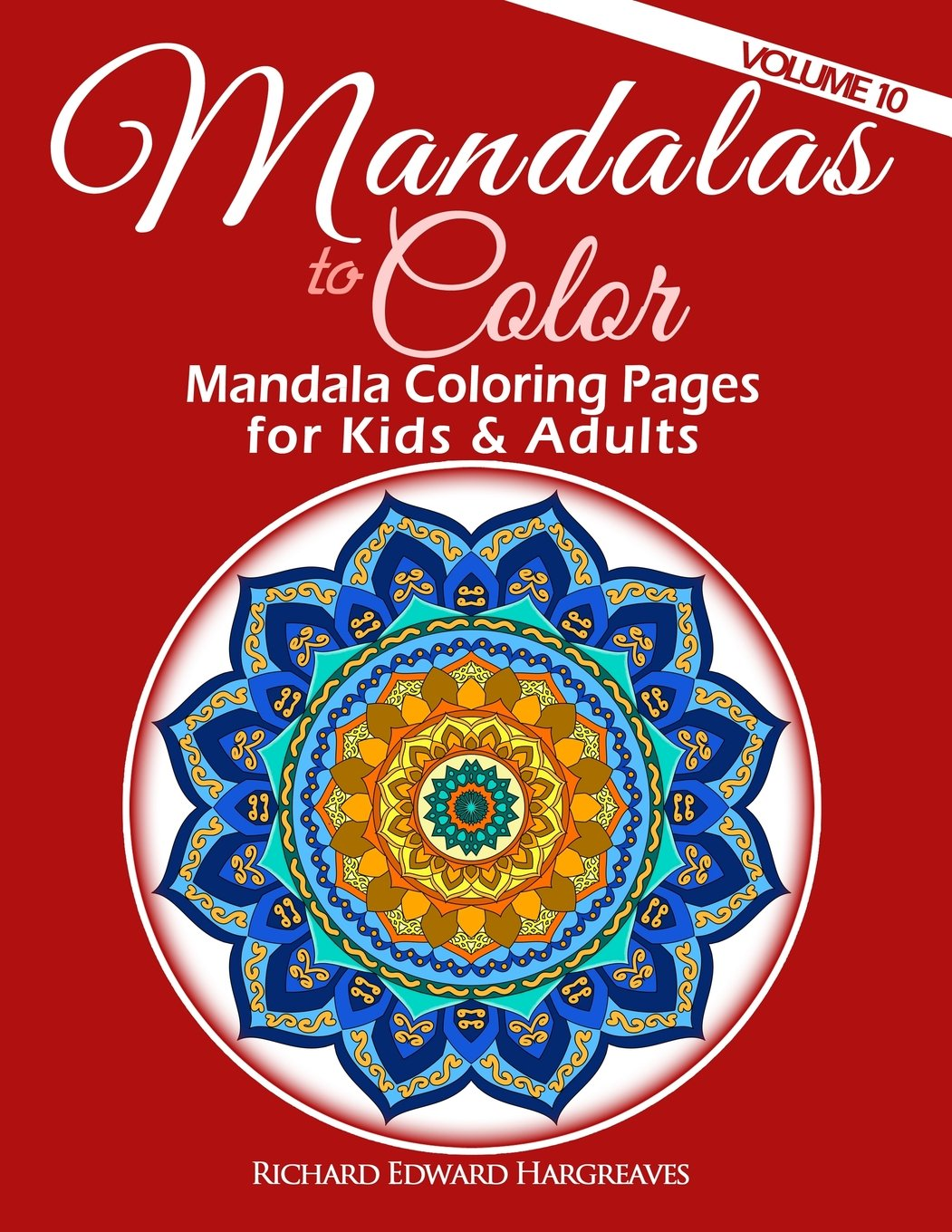 Amazon.com: 10: Mandalas to Color - Mandala Coloring Pages for Kids ...