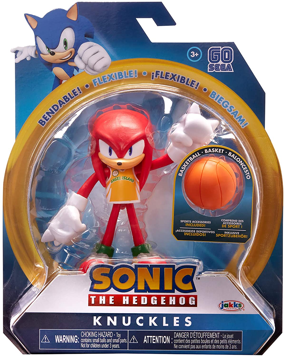 Sonic The Hedgehog 4 Basketball Knuckles Action Figure