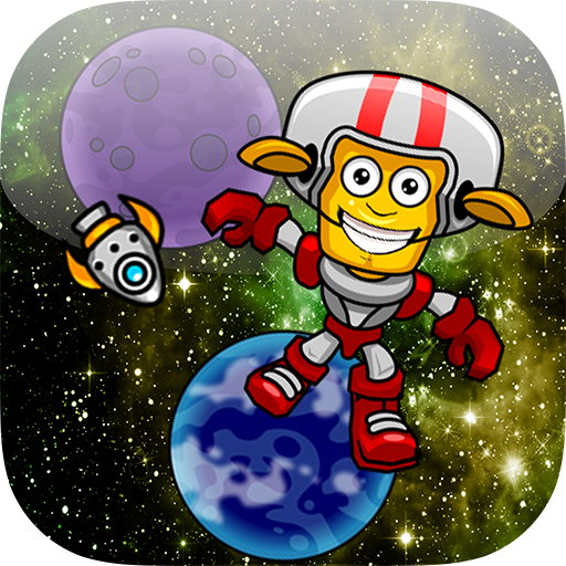 Gravity Jumper In Outer Space - Jump From The Spinning Planets ...