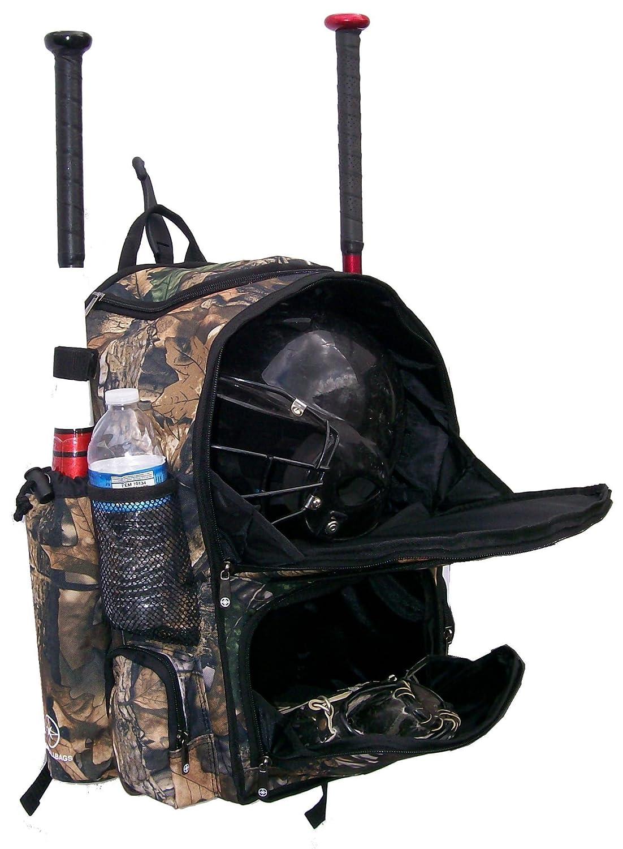 Tree Camouflage Chita CY Youth Softball Baseball Bat Equipment Backpack TRCACY