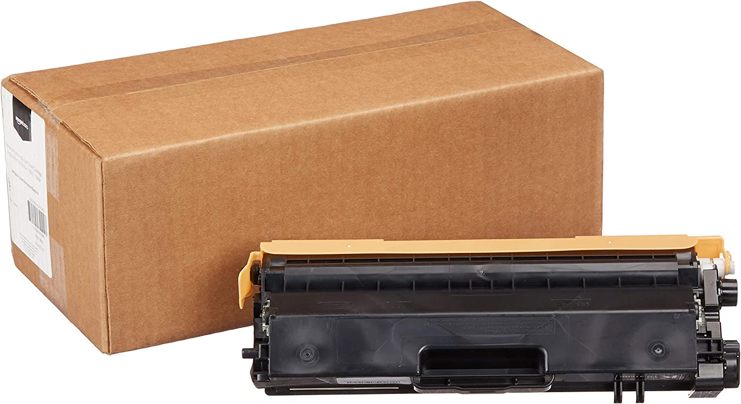 AmazonBasics Remanufactured High-Yield Toner Cartridge, Replacement for Brother TN315 - Black