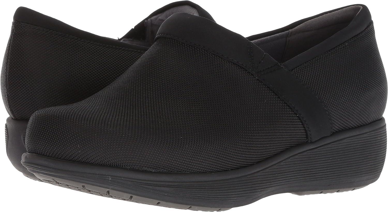 [Softwalk] Women's Meredith Clog [並行輸入品] 8 B(M) US Black Ballistic B07BMBN81N